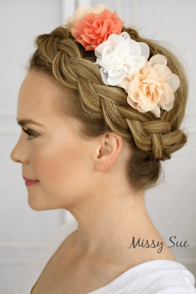 Prime Flower Crown Braid Hairstyles For Women Draintrainus
