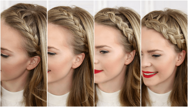 Four Headband Braids | MissySue.com
