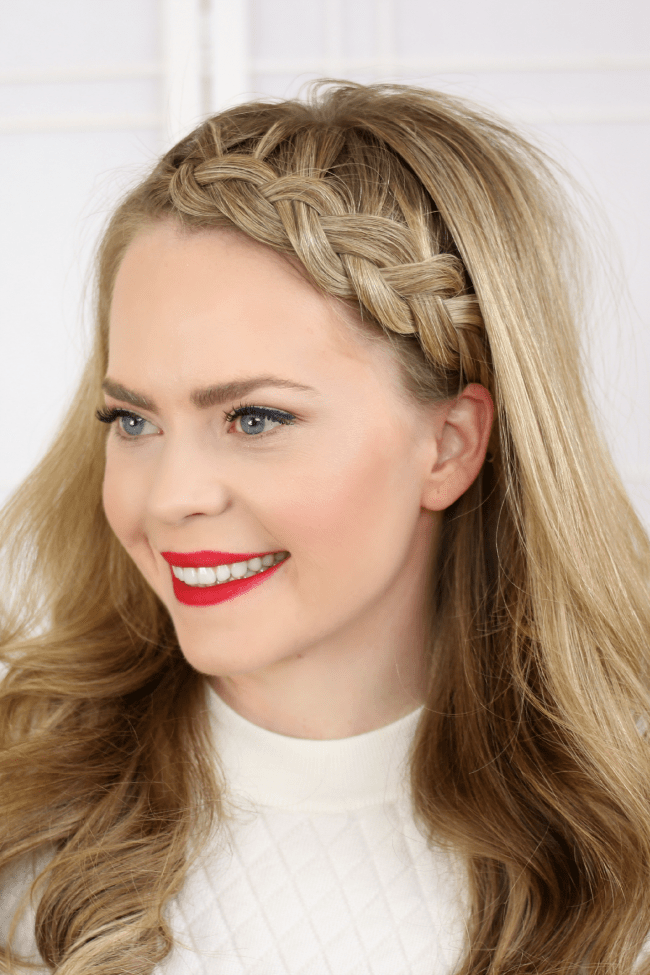 Half Dutch Braid Headband | MissySue.com