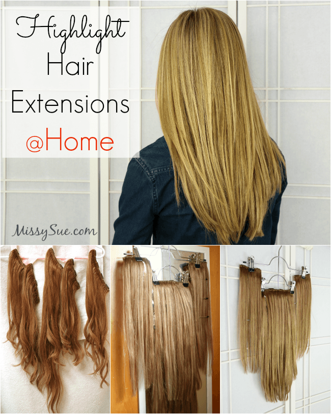 Highlight Extensions at Home | MissySue.com