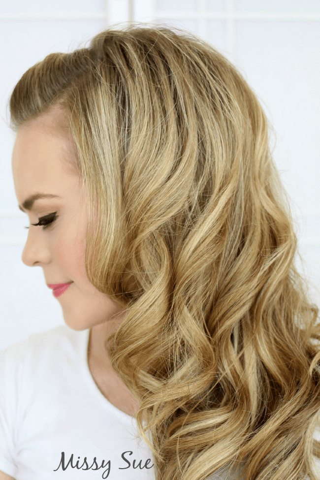 Old Hollywood Curls | MissySue.com