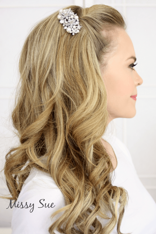 Old Hollywood Waves | MissySue.com