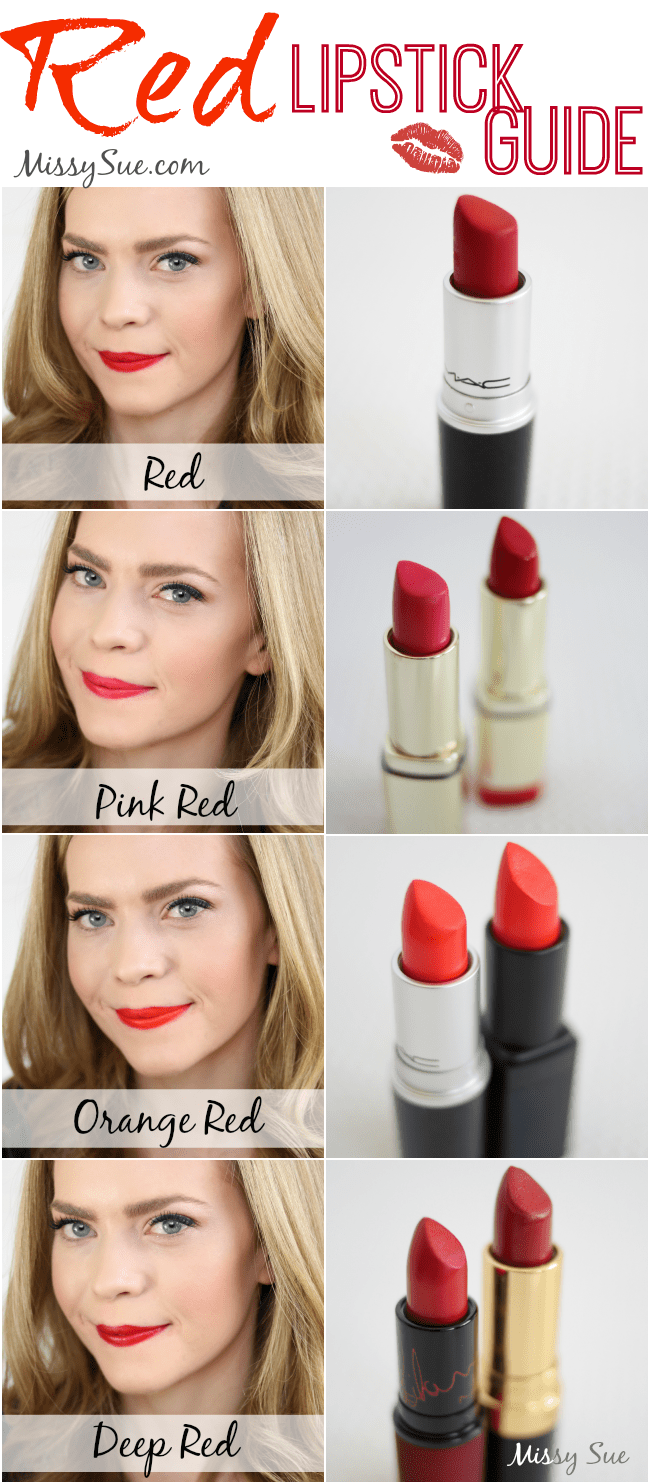 Red Lipstick Guide | MissySue.com