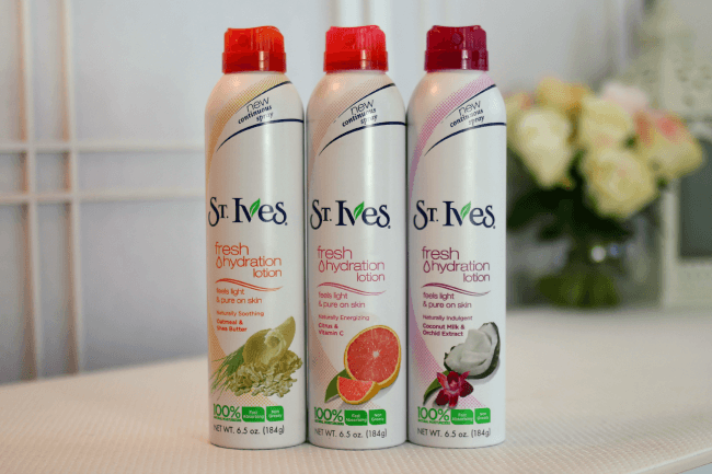 St. Ives Fresh Hydration Lotion | MissySue.com