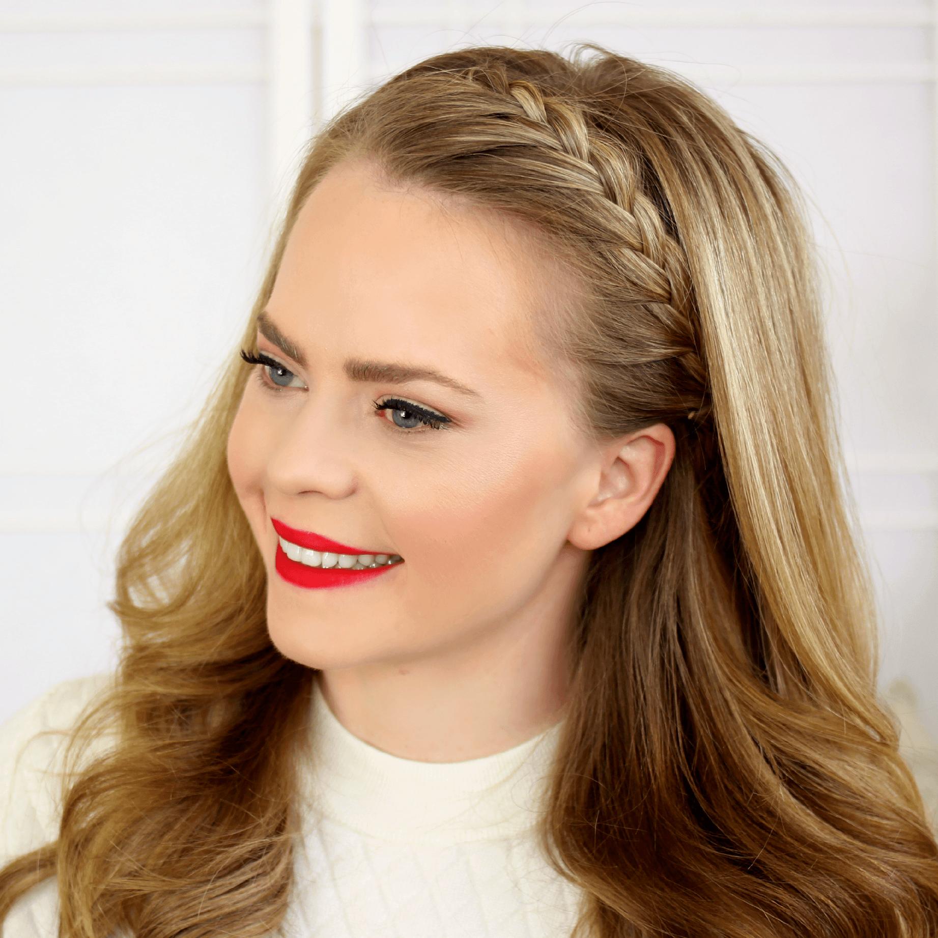 Lace Headband Braid | MISSY SUE
