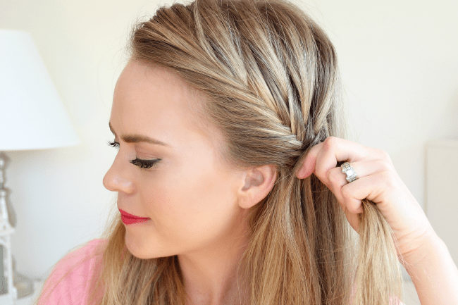 Fishtail French Braid Headband | MissySue.com