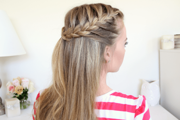 Excellent Braid 11 Half Up French Braids Short Hairstyles Gunalazisus
