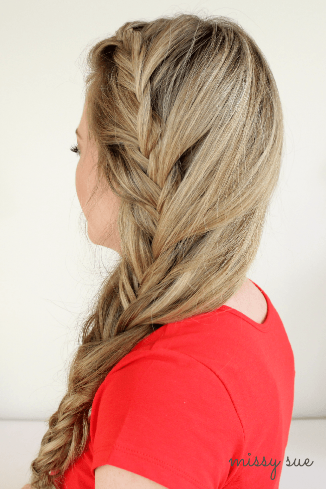 Mermaid Style Fishtail Braid | MissySue.com