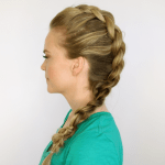 Mohawk Dutch Braid