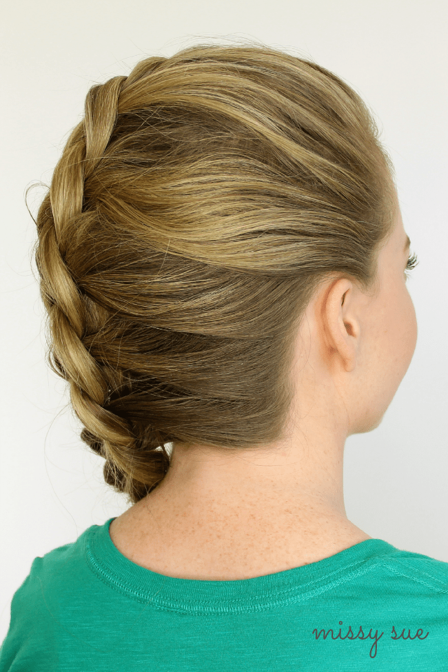 Mohawk Dutch Braid | MissySue.com