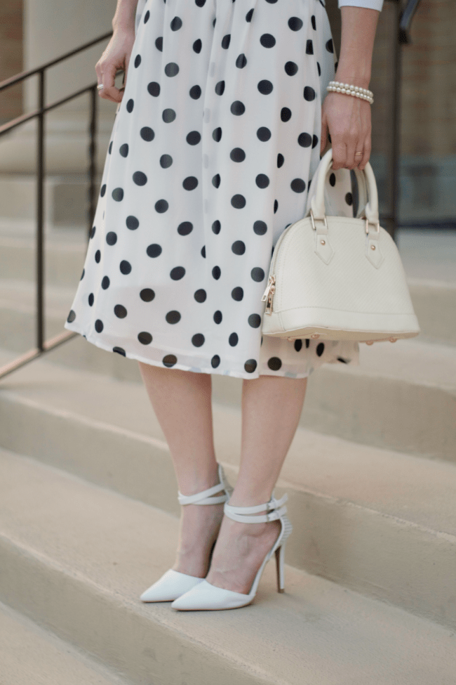 Polka Dot Dress - Look 2
