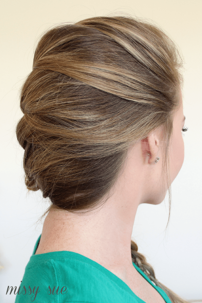 Side French Braid Four Strand Side Braid