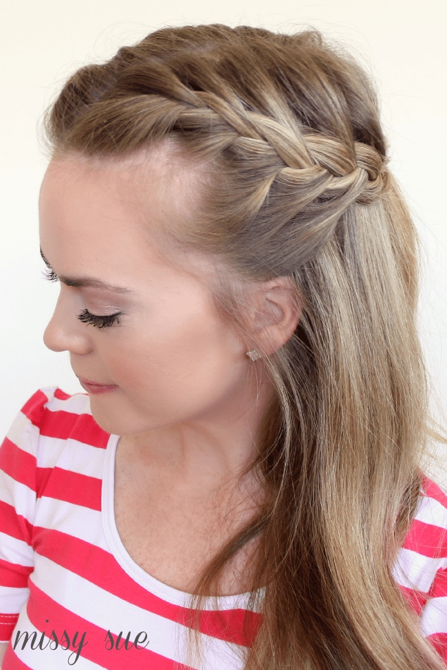 Phenomenal Braid 11 Half Up French Braids Short Hairstyles Gunalazisus