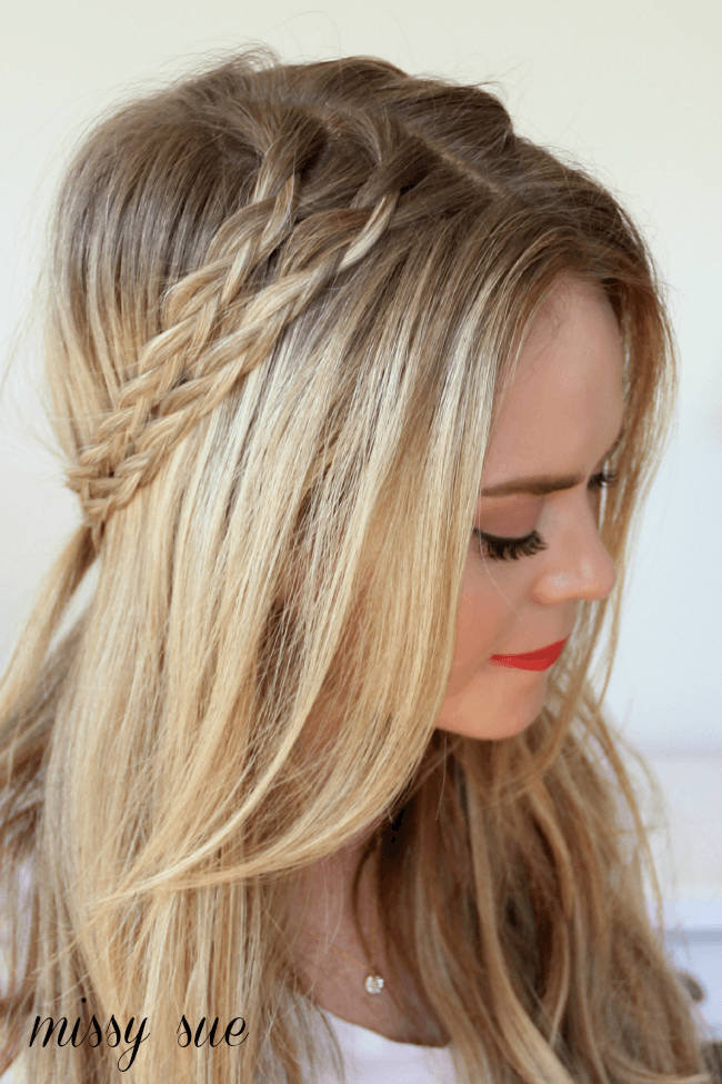 Half Up Crown Braids | MissySue.com