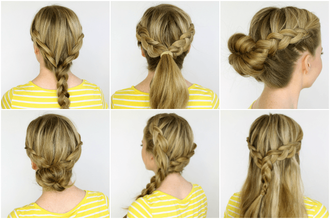 Hair Styles With Braids: Two Dutch Braids 6 Hairstyles