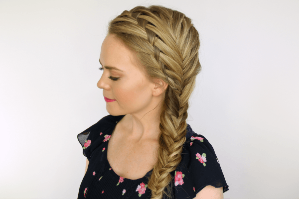 Waterfall Fishtail French Braids | MissySue.com