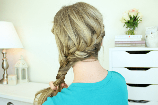 Wrap Around French Side Braid