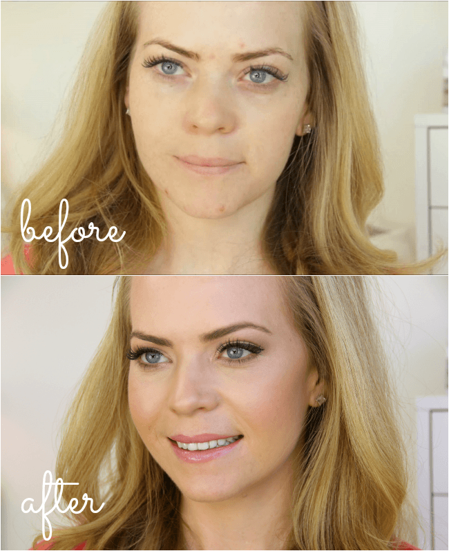 Easy, summer makeup