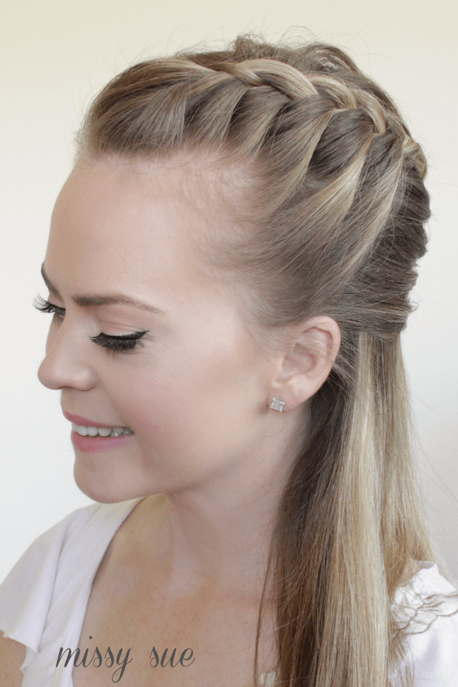 Half Up Mermaid Braid | MissySue