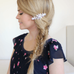 Spiral Fishtail Side Braid