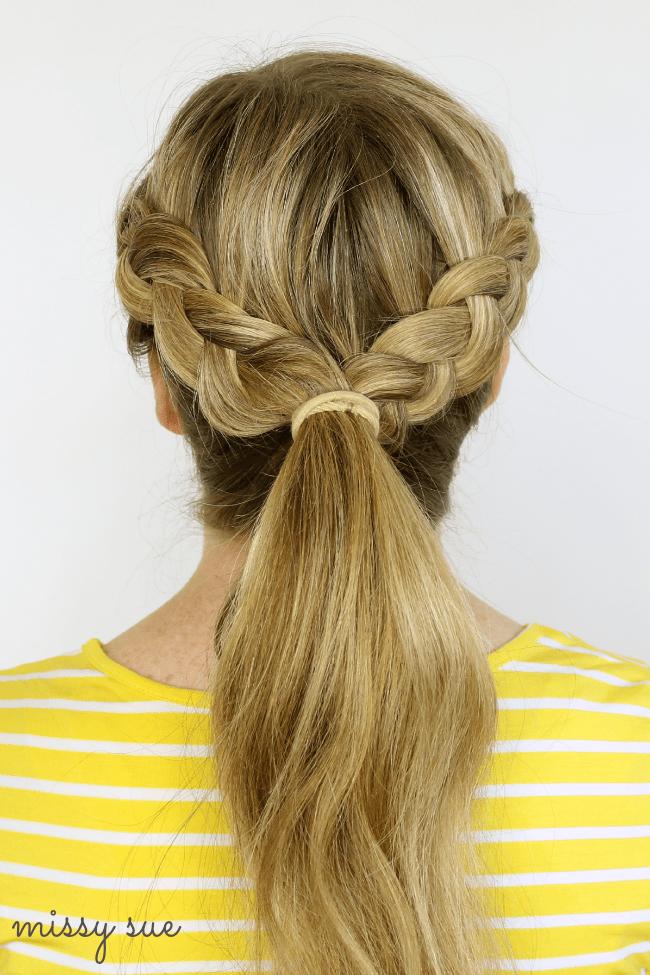 Super Two Dutch Braids 6 Hairstyles Missy Sue Hairstyles For Men Maxibearus