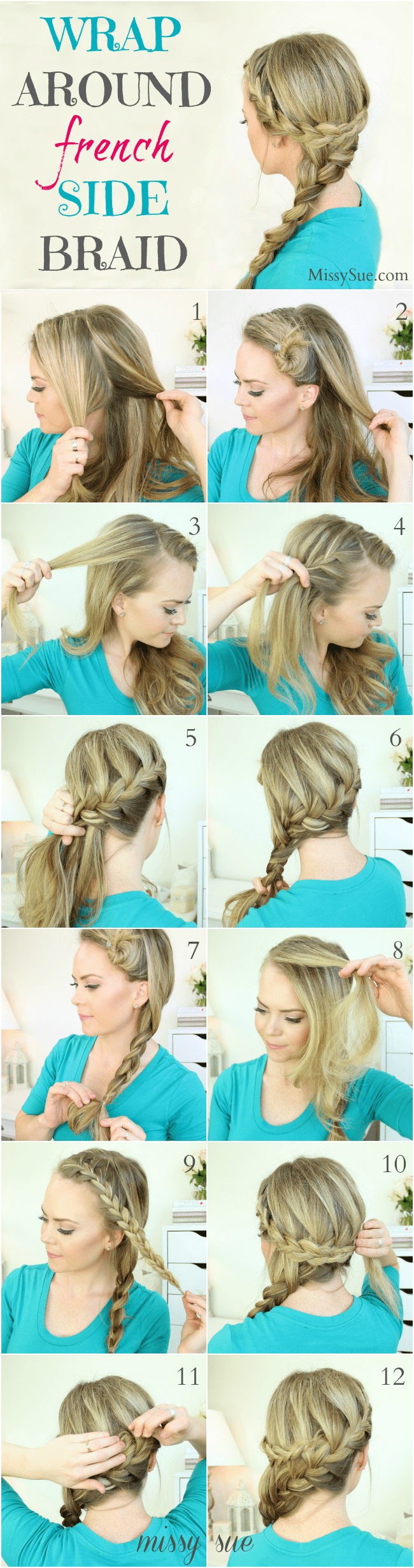 Wrap around french side braid wrap around french side braid missy sue blog1g solutioingenieria Gallery