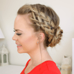 Waterfall, Dutch, French Braided Bun