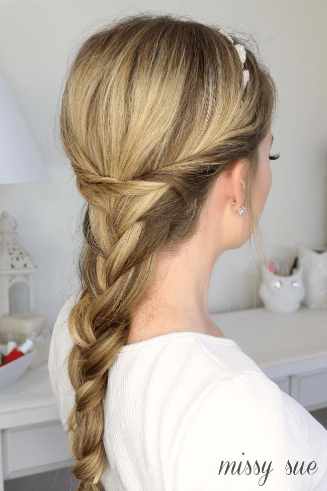 Embellished Braid with Twists