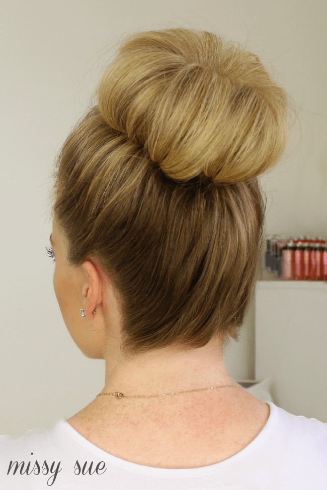 Easiest Top Knot Tutorial