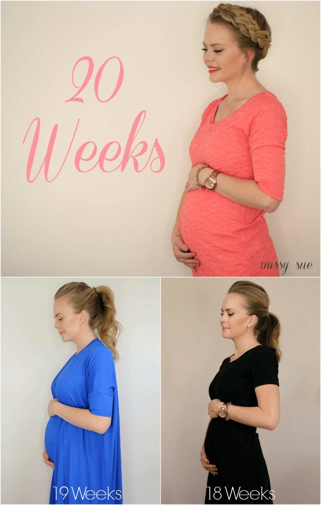 20 Weeks Baby Bump Update