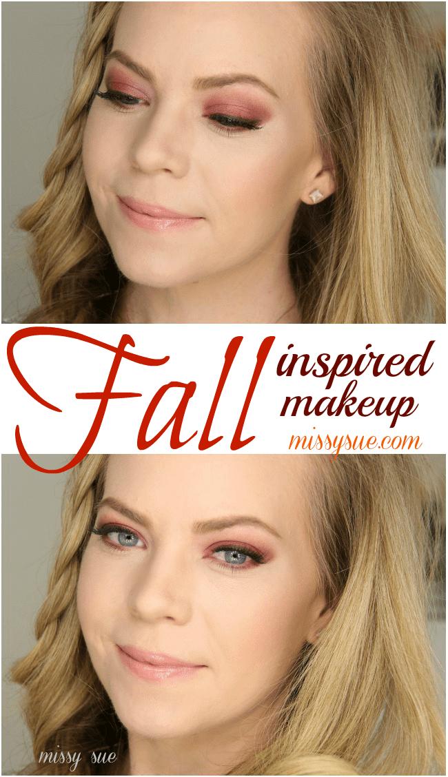 Fall Inspired Makeup | MissySue.com