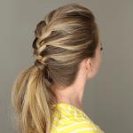 French Braid Ponytail | MissySue.com