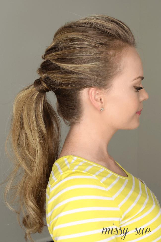 Sensational French Braid Ponytail Short Hairstyles Gunalazisus