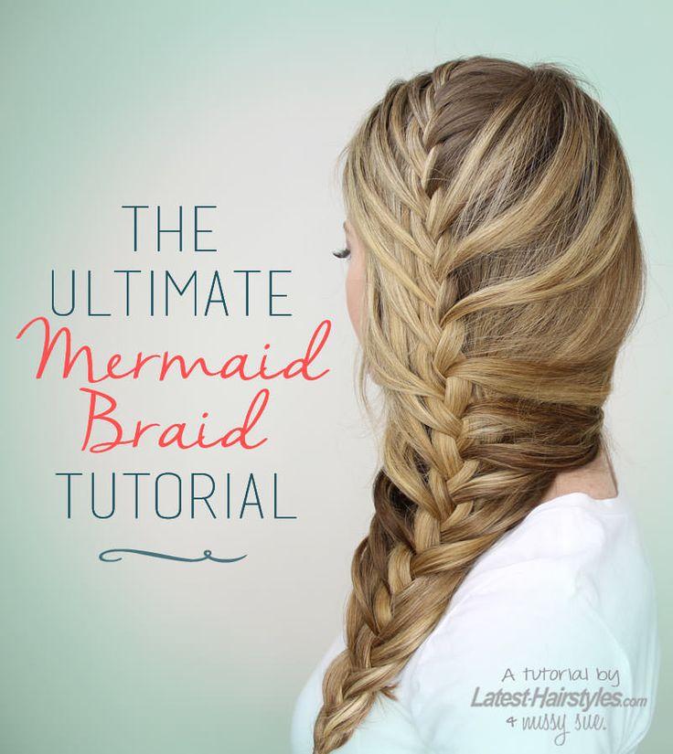 Mermaid Braid Tutorial | MissySue.com
