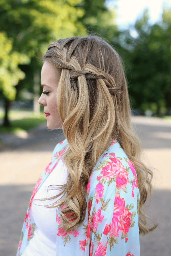 Waterfall Braid | MissySue.com