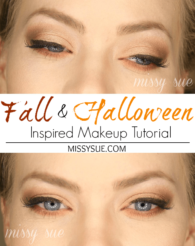 Fall Halloween Inspired Makeup Tutorial
