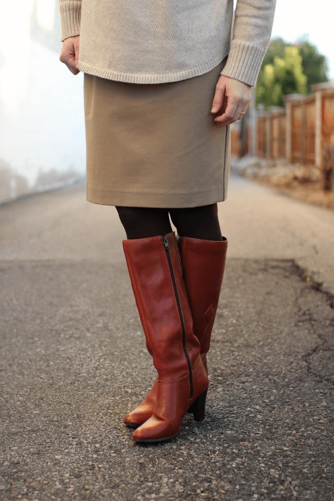 j.jill-ponte-skirt