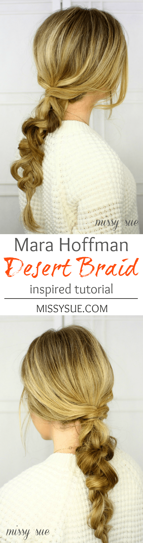 Mara Hoffman Desert Braid Tutorial | MissySue.com