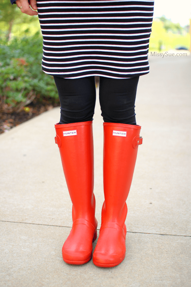 Red Hunter Boots | MissySue.com