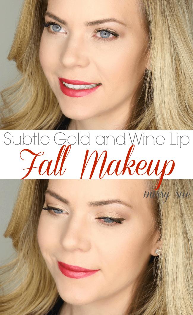 Fall Makeup Tutorial | MissySue.com