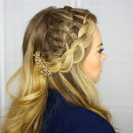 Waterfall Dutch Headband Braid | MissySue.com