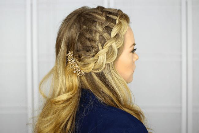 Waterfall Dutch Headband Braid | MissySue.com