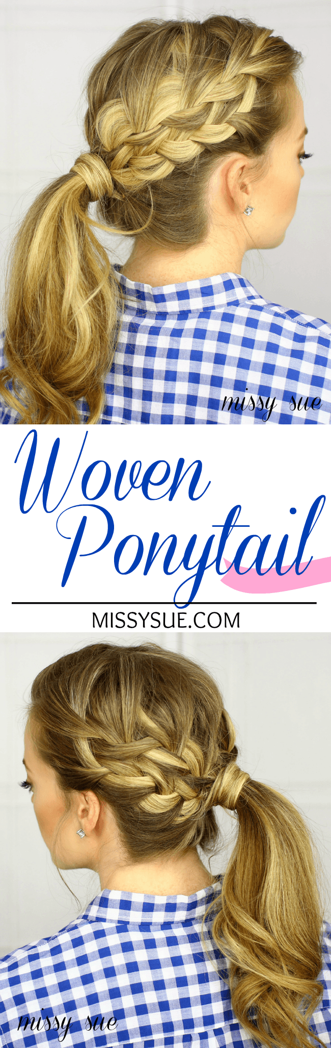 Woven Ponytail Tutorial