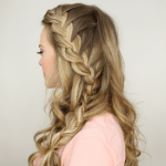 Half Up Side French Braid