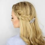 Inverted Fishtail Headband Braid
