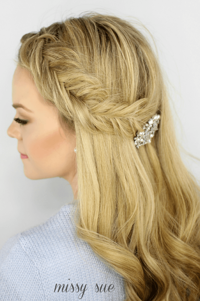 Inverted Fishtail Headband Braid | MissySue.com