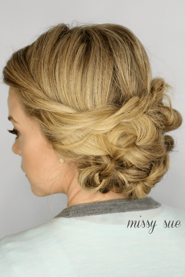 Looped Updo | MissySue.com