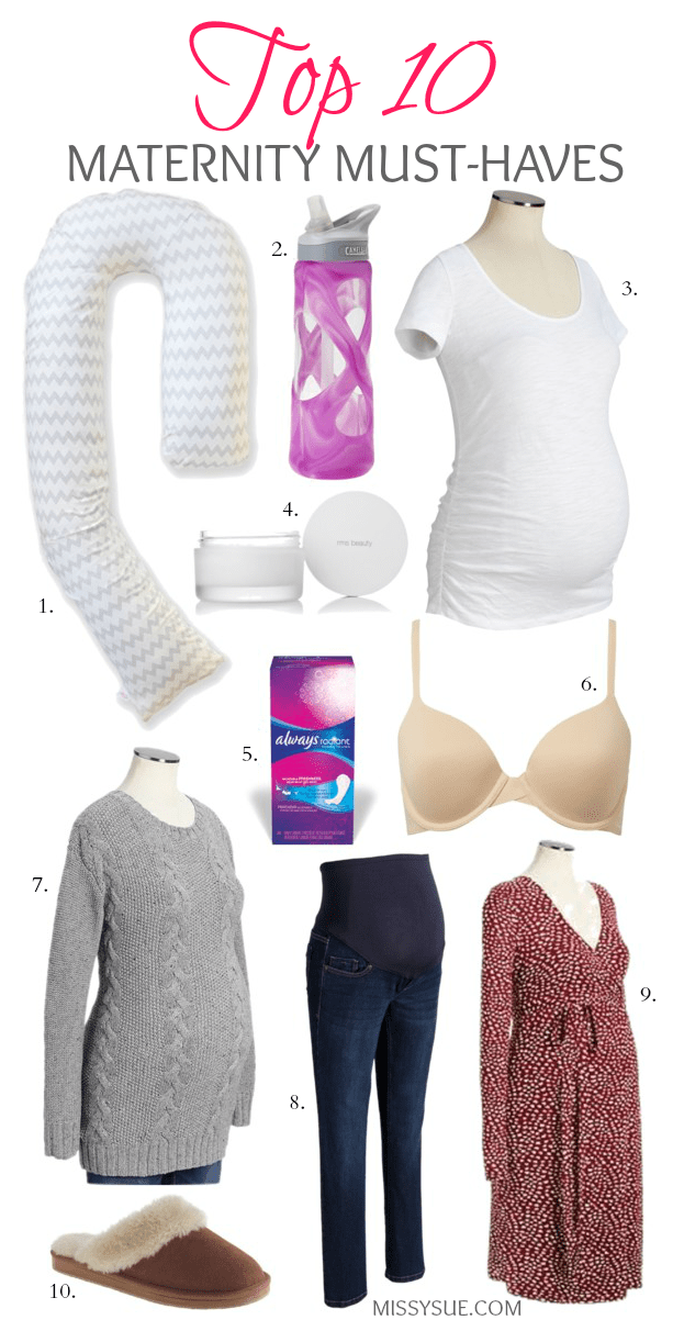 top ten maternity must-haves