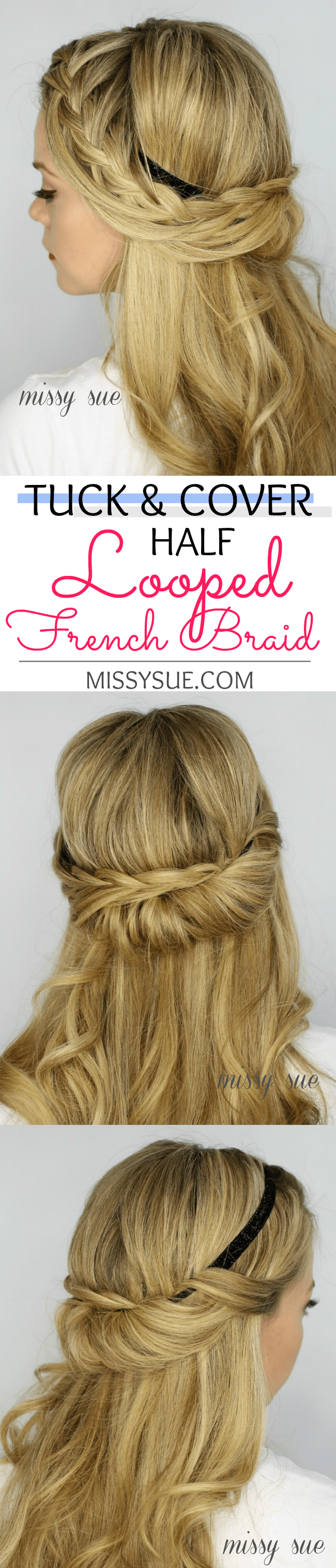 tuck-and-cover-half-looped-french-braid