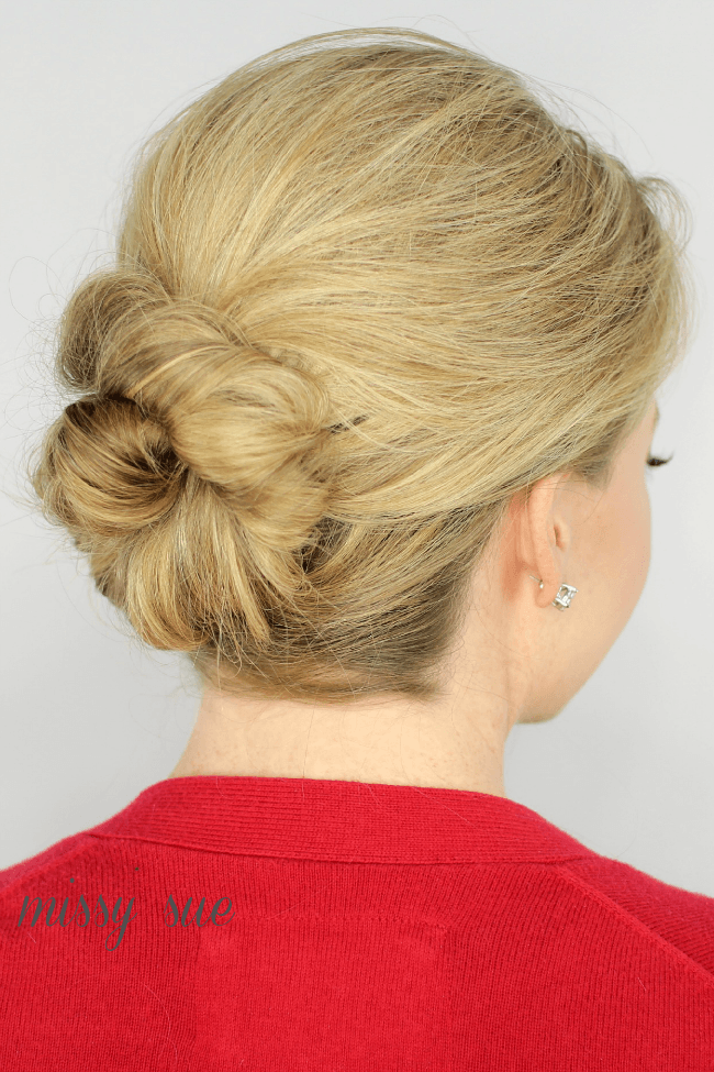 Unique  With Messy Bun Or Loose Bun Twisted Bun Is More Popular These Days